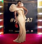 Nana Akua Addo Wore Gaurav Gupta Couture To The Africa Movies Viewers' Choice Awards