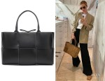 Rosie Huntington-Whiteley's Bottega Veneta Cassette Bag