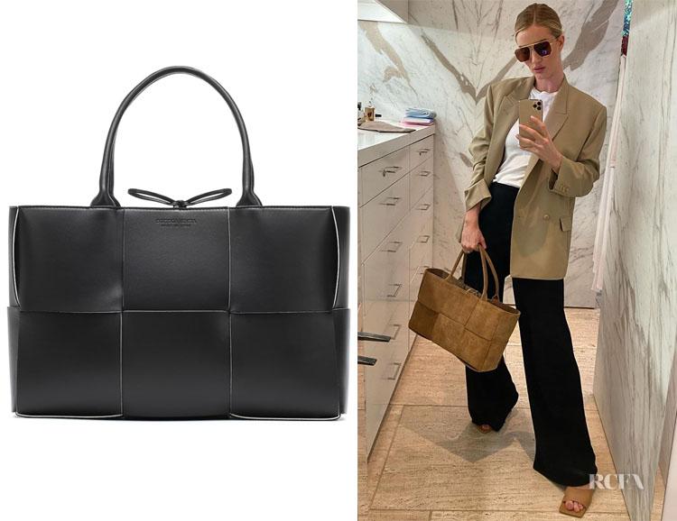 Rosie Huntington-Whiteley's Bottega Veneta Cassette Bag