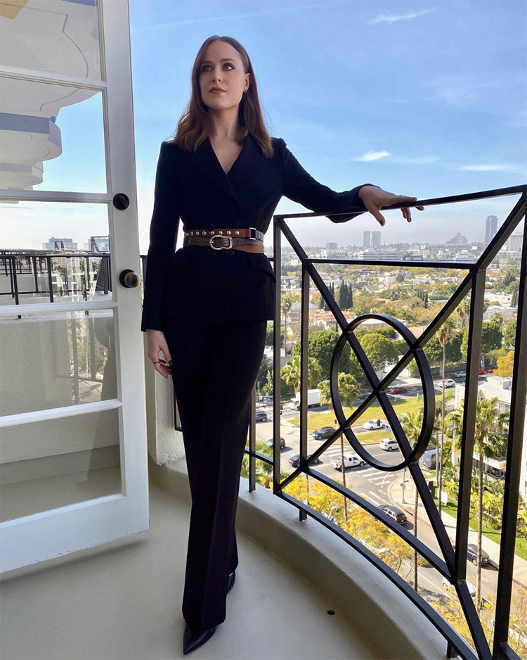 Evan Rachel Wood Wore Dorothee Schumacher To The 'Westworld' Season 3 Press Day