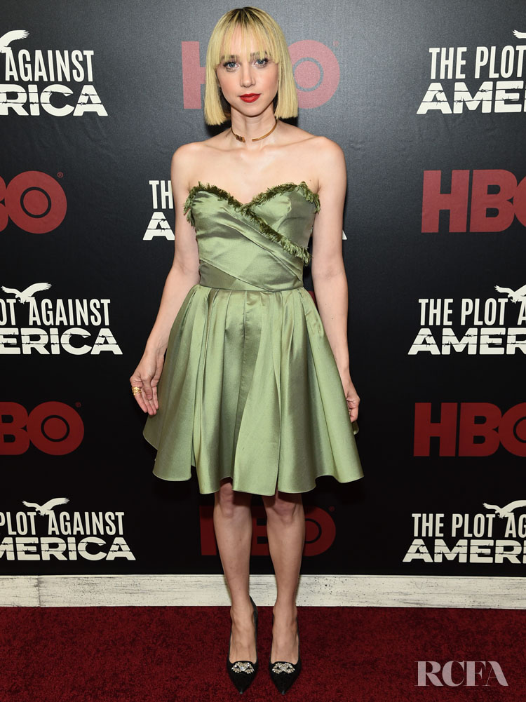 Zoe Kazan Dior  - 'The Plot Against America' New York Premiere