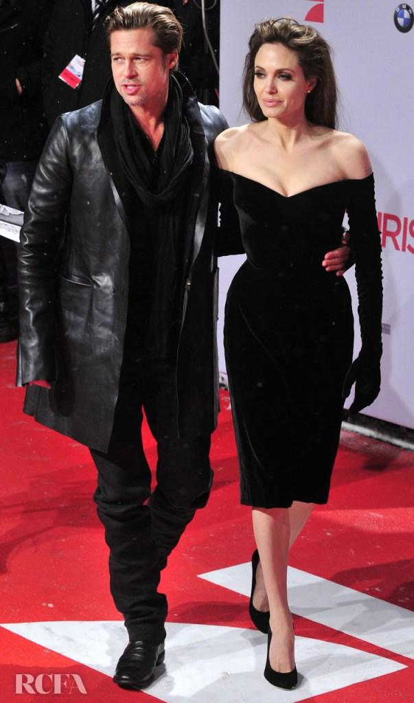 Angelina Jolie 'The Tourist Berlin Premiere in Versace (2010)