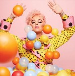 Katy Perry Wore Moschino On Her 'Smile' Album Cover