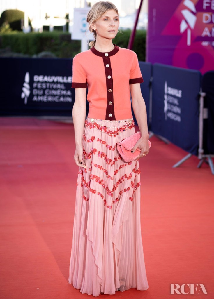 Clémence Poésy Wore Chanel To The 'Resitance' Deauville American Film Festival
