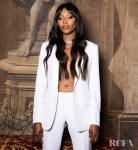 Naomi Campbell Wore Dior Men To The Bvlgari Barocco Event