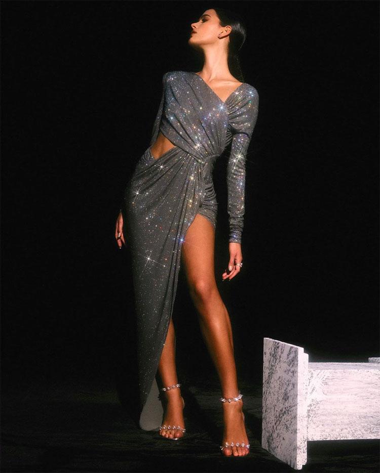 Bruna Marquezine Alexandre Vauthier Spring 2020 Haute Couture  For MTV Miaw 2020