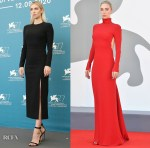Vanessa Kirby Wore Valentino To The 'Pieces Of A Woman' Venice Film Festival Photocall & Premiere