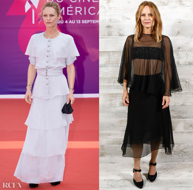 Vanessa Paradis Wore Chanel To The Deauville American Film Festival