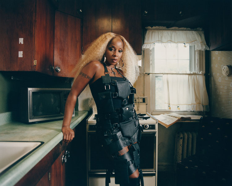 Mary J. Blige x Hood By Air For Garage Magazine