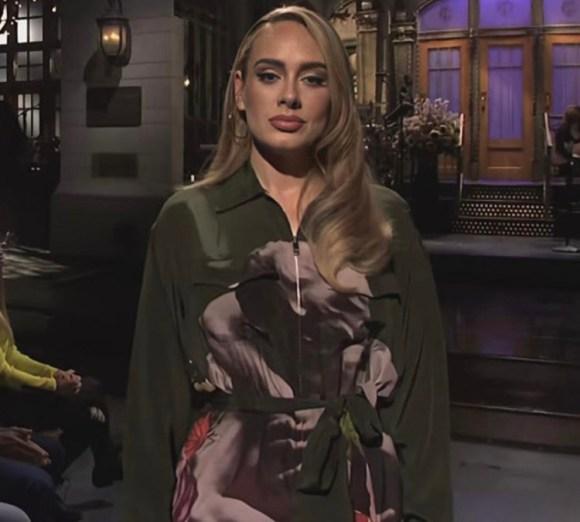 Adele Wore Valentino Saturday Night Live