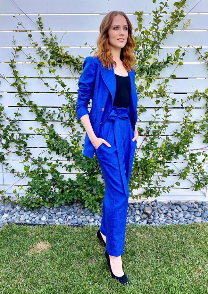 Evan Rachel Wood Promotes Kajillionaire In Gabriela Hearst