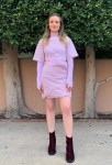 Gillian Jacobs Wore Kenzo For The 'Come Play' Virtual Press Day