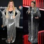 Kelly Clarkson Wore Many Looks Hosting The 2020 Billboard Music Awards
