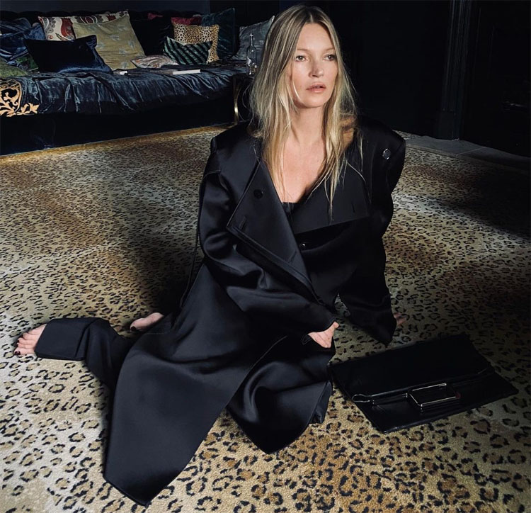 Kate Moss Wears Matthew Williams Debut Givenchy Spring 2021 Collection