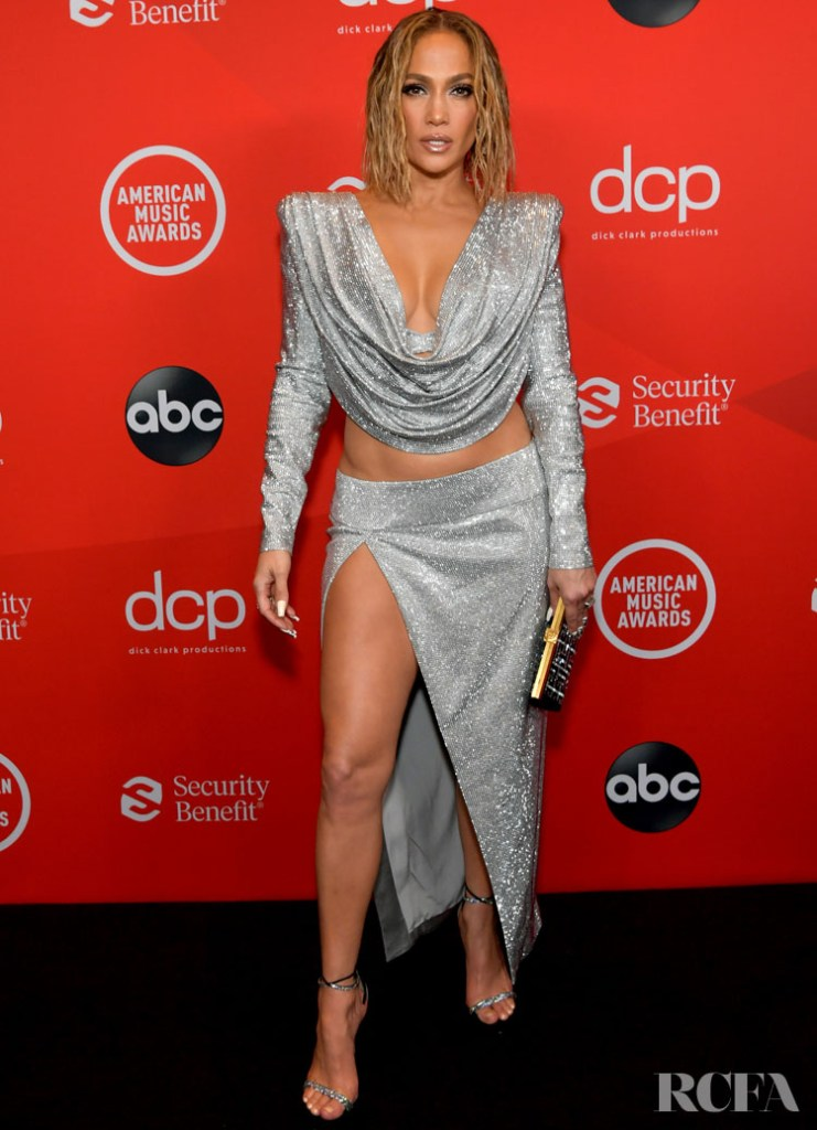 Jennifer Lopez Wore Balmain For The 2020 American Music Awards