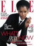 Letitia Wright For Elle UK November 2020