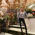 Rita Ora Celebrates Her 30th Birthday In Saint Laurent & Maison Margiela