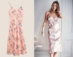 Rosie Huntington-Whiteley Mark & Spencers Floral Print Nightdress
