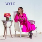 Sarah Jessica Parker Wore Christopher John Rogers To The Vogue Forces of Fashion Summit