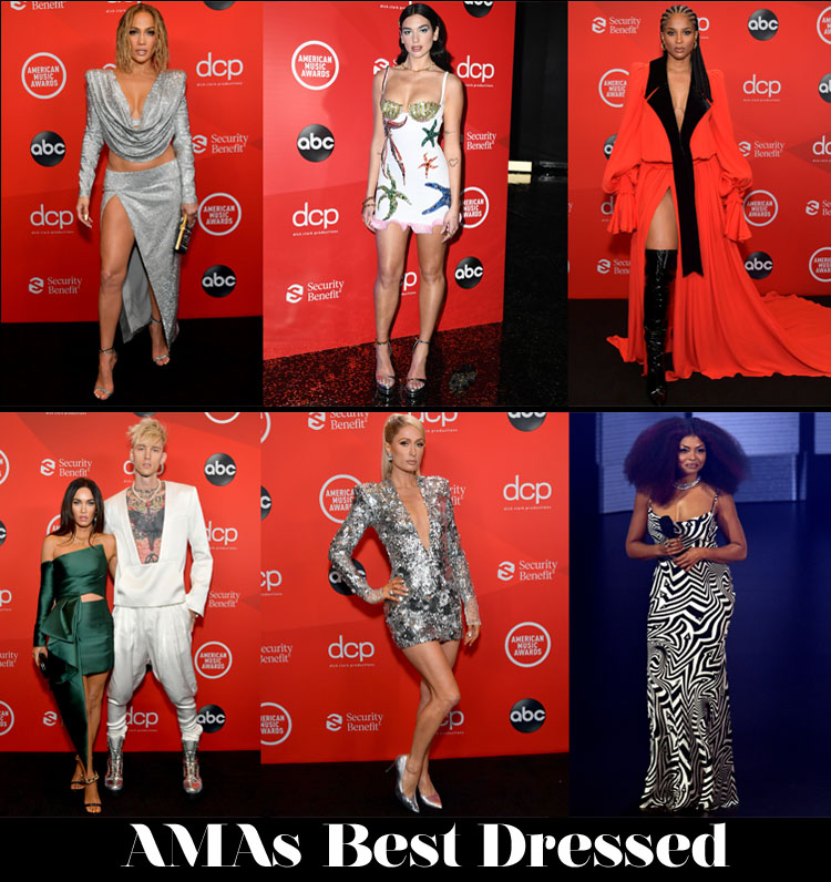 Who Was Your Best Dressed At The 2020 American Music Awards?