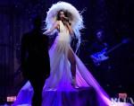 Dua Lipa Performed On SNL Wearing Valentino Haute Couture, Alaïa & Mugler