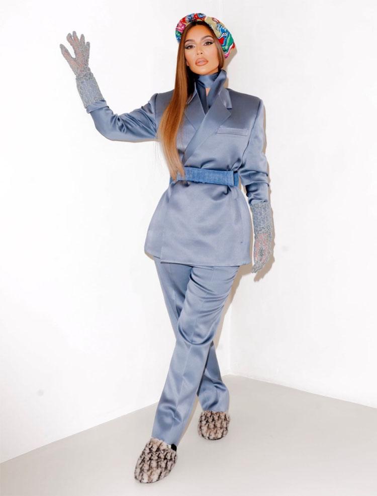 Kim Kardashian Dior Men Fall 2021