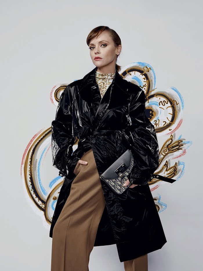 Christina Ricci Dior Men Fall 2021