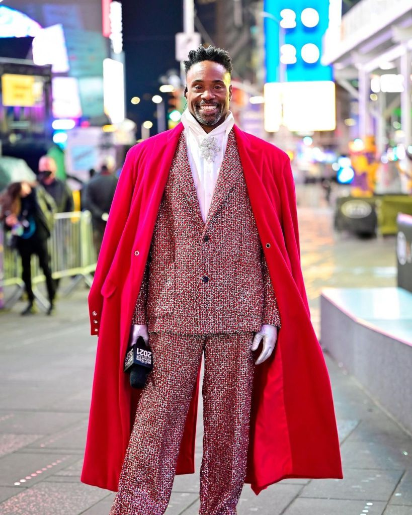 Billy Porter in Botter 2021 Dick Clark's New Year's Rockin' Eve Special
