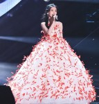 Angelababy 杨颖 Wore Giambattista Valli Haute Couture For The Zhejiang Satellite TV New Year Concert