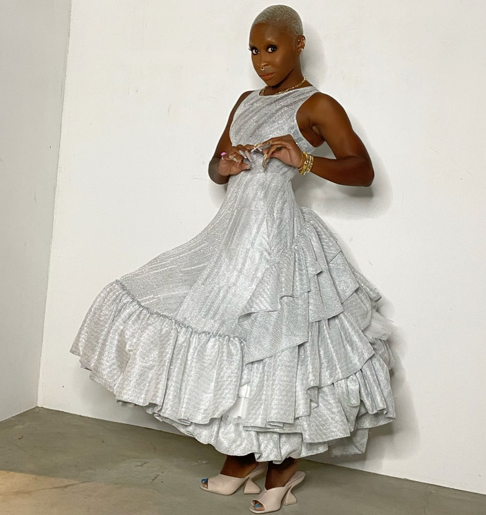Cynthia Erivo Wore Loewe, Vera Wang & Chanel Promoting 'Genius: Aretha'