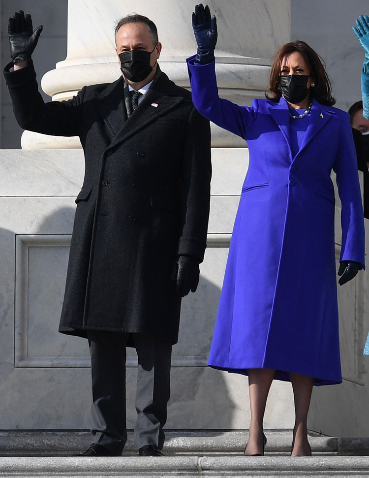 Kamala Harris Wore Christopher John Rogers For Joe Biden's Inauguration