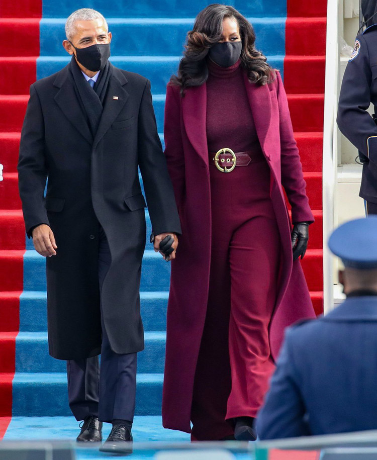 Michelle Obama Wore Sergio Hudson For The Presidential Inauguration