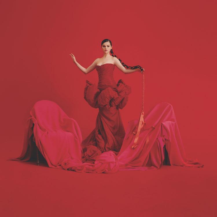 Selena Gomez Announces Her New Album Revelación Wearing Giambattista Valli Haute Couture