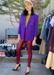 Gal Gadot Wore Saint Laurent Promoting 'Wonder Woman 1984'