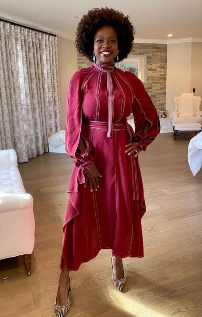 Viola Davis Wore Stella McCartney Promoting 'Ma Rainey'