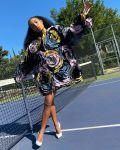 Yara Shahidi Wore Alexandre Vauthier Haute Couture Promoting 'Grown-Ish' Season 3
