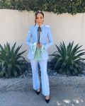 Ashley Madekwe Wore Philosophy di Lorenzo Serafini Promoting 'County Lines'