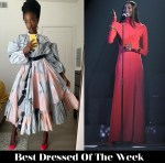 Best Dressed Of The Week - Amanda Gorman & Lous and the Yakuza