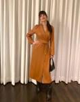 Camila Morrone Was Feeling Cute In Nanushka