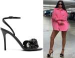 Kylie Jenner's Valentino Garavani Atelier 03 Rose Edition Sandals