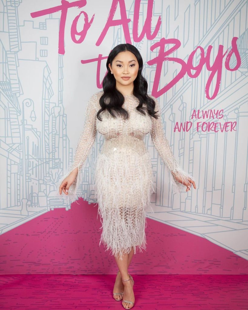 Lana Condor Wore Julien Macdonald For The 'To All The Boys Always & Forever' LA Premiere