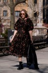 Chloe Sevigny Rocks Simone Rocha x H&M In New York City