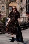 Chloe Sevigny Rocks Simone Rocha x H&M In New York City