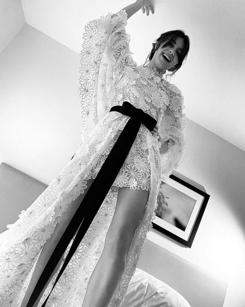 Daisy Edgar-Jones Chanel Golden Globes