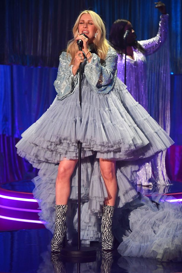 Ellie Goulding Wore Jean Paul Gaultier Haute Couture On The Graham Norton Show