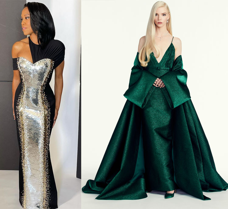 Fashion Critics' 2021 Golden Globe Awards Roundup
