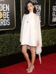 Gal Gadot Wore Givenchy To The 2021 Golden Globe Awards