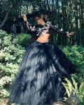 Halle Berry Was Instaglam In Christian Siriano