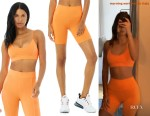 Kendall Jenner's Alo Yoga Bra & Biker Shorts
