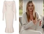 Rosie Huntington-Whiteley's Khaite Knit Dress